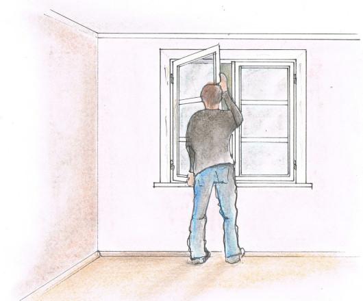 Renowacja drewnianych okien - demontaż skrzydeł