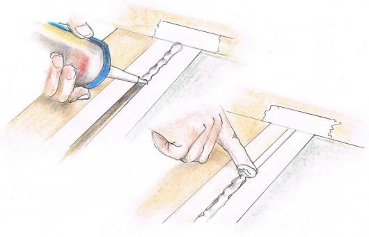Renowacja drewnianych okien - renowacja osadzenia szyb