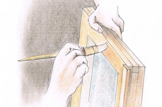 Renowacja drewnianych okien - impregnacja