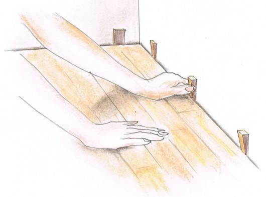 Укладання панелей - крок 6. Необхідні розширювальні шви
