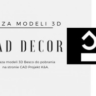 Baza Cad Decor - modele 3D Besco