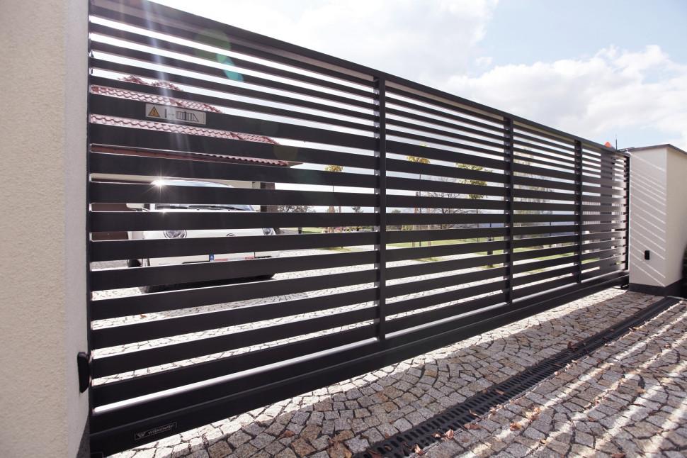 Фотоэлементы у въездных ворот
