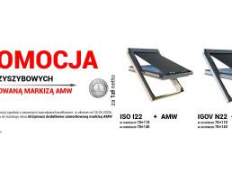 Markiza AMW za złotówkę w promocji do wybranych okien OKPOL