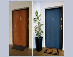 Metamorfoza drzwi wejściowych metodą DIY