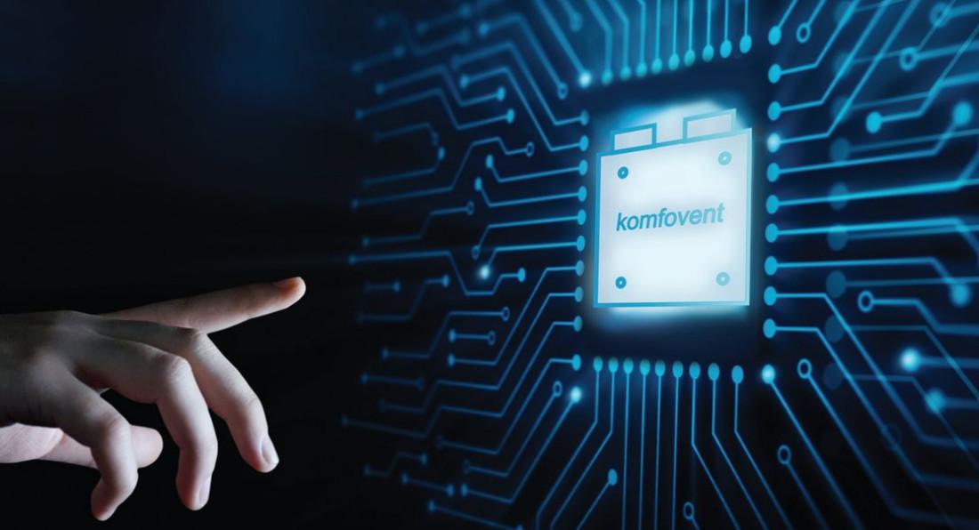 Poznaj pierwszy na rynku rekuperator naprawdę on-line: KOMFOVENT DOMEKT
