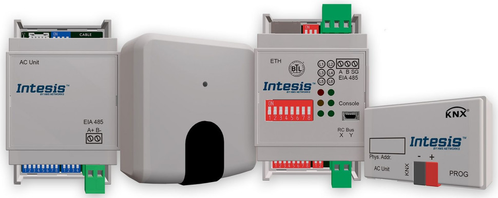 HMS Networks: Intesis AC Interfaces