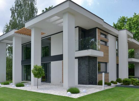 Projekt domu z naciskiem na wygląd, nie na praktyczne rozwiązania