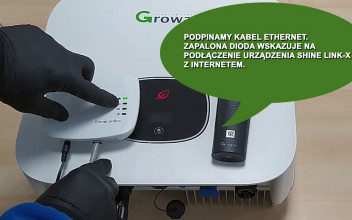 Konfiguracja monitoringu Growatt ShineLink-X