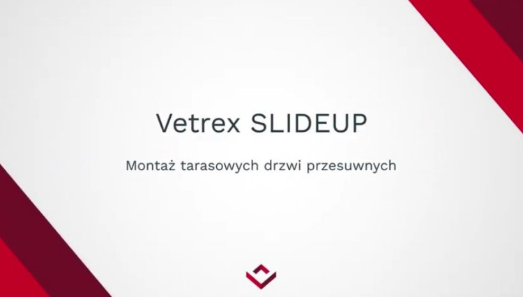 Montaż SLIDE'UP | VETREX
